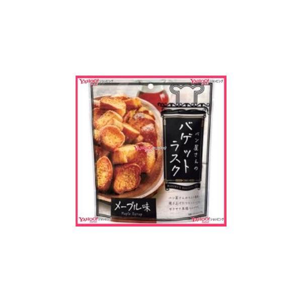 業務用菓子問屋GGxMDH 90G パン屋さんのバゲットラスクメープル味×24個 +税 【xw】【送料無料(沖縄は別途送料)】