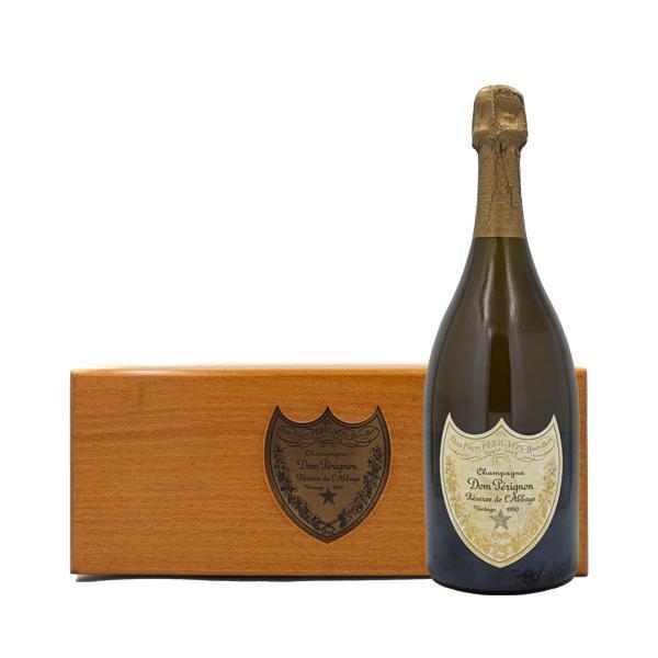 ドン ペリニヨン レゼルブ ド ラベイ 1990年 750ml 木箱 箱付 シャンパン スパークリングワイン|osake-concier