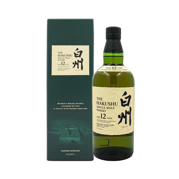 ウイスキー 白州 12年 シングルモルト43% 700ml サントリー 箱付 国産ウイスキー whisky|osake-concier