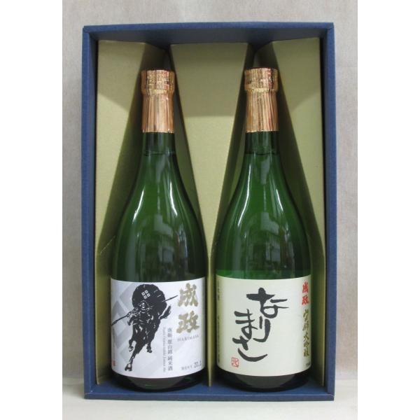 成政酒造 なりまさ・佐々成政「黒」(大吟醸・純米)720ml 2本入セット(富山県 日本酒 辛口)
