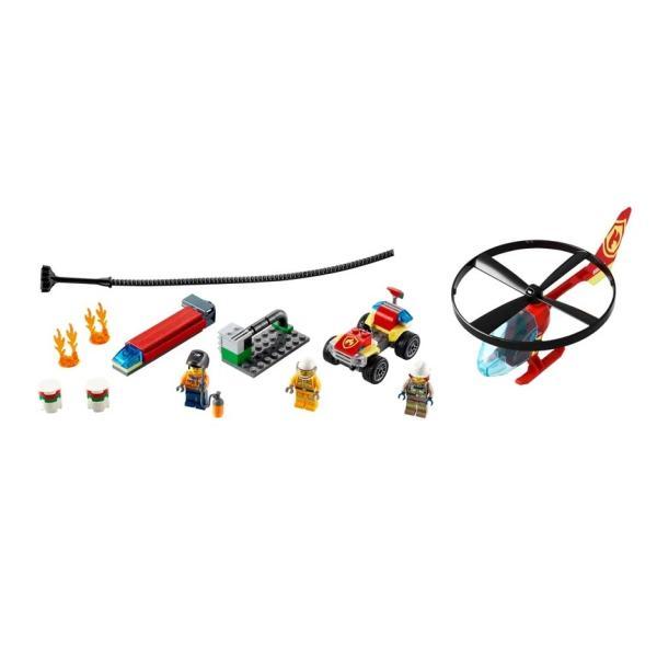 LEGOCITYレゴシティ消防ヘリコプター60248レゴブロックファイヤーヘリコプター