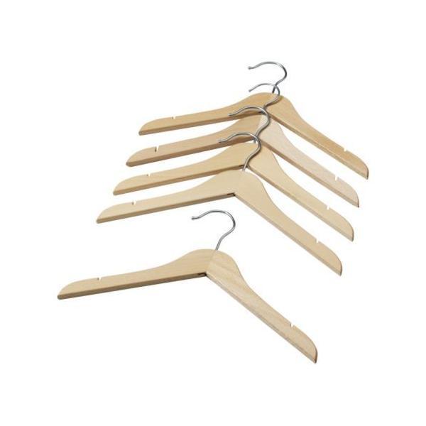 RoomClip商品情報 - IKEA 子供用 「木製ハンガー5本セット」 ベビー/キッズ用ハンガー/ナチュラル/ビーチ無垢材