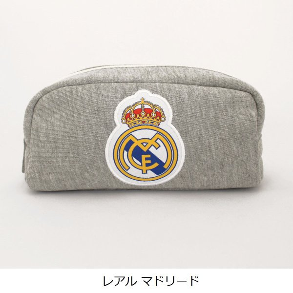 筆箱 ペンケース バルサ レアル 刺繍スウェットポーチ 公式 サッカー 筆記用具|oshare-zakka|03