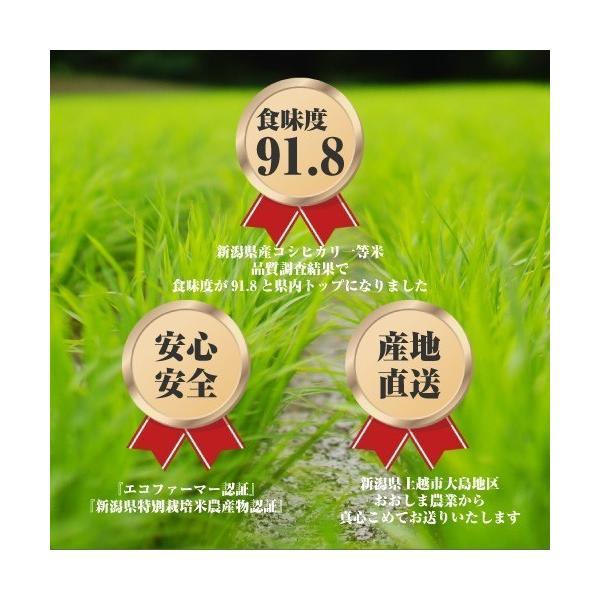 産地直送 新潟県産 令和2年産 おおしま育ち コシヒカリ 5kg 白米|oshima-sodachi|02