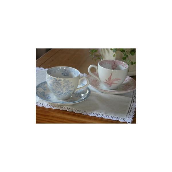 イギリス食器 バーレイ社 ブルーアジアティックフェザンツ ティーカップ&ソーサー180ml |ostuni|02