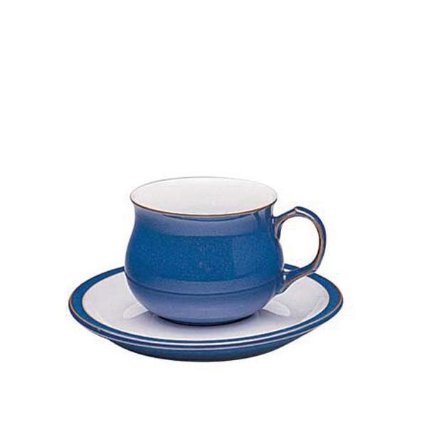 イギリス食器 Denby デンビー インペリアルブルー ティーカップ&ソーサー 250ml |ostuni