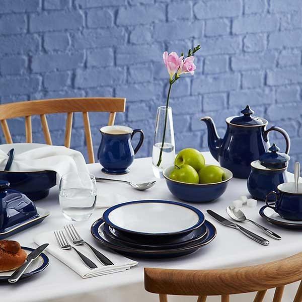 イギリス食器 Denby デンビー インペリアルブルー ストレートマグ350ml |ostuni|02