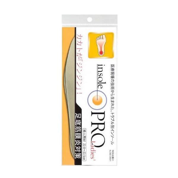 中敷き インソールプロ(靴用中敷き) 足底筋膜炎対策 レディス・女性用