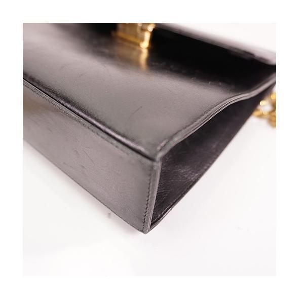 サルバトーレフェラガモ 2WAYバッグ ガンチーニ レザー ブラック ゴールド