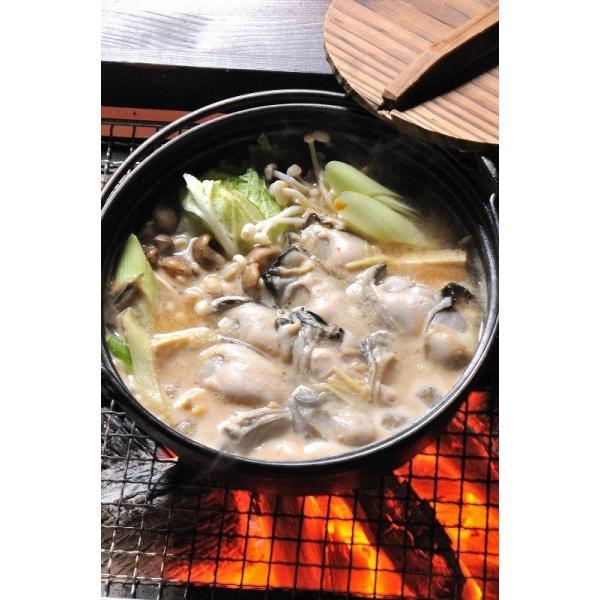 能登かき 殻付(半缶  約40個)(牡蠣ナイフ、片手用軍手付)|otasuisan|04