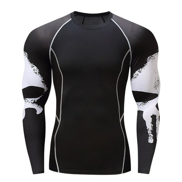 加圧インナー アンダーシャツ メンズ 加圧シャツ コンプレッションウェア 吸汗 速乾 トレーニングウェア スポーツウェア 長袖|otasukemann|09