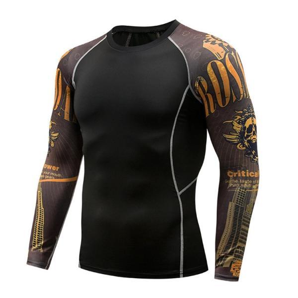 加圧シャツ アンダーシャツ メンズ 長袖 コンプレッションウェア トレーニングウェア 加圧インナー 吸汗速乾 運動着 おしゃれ|otasukemann|13
