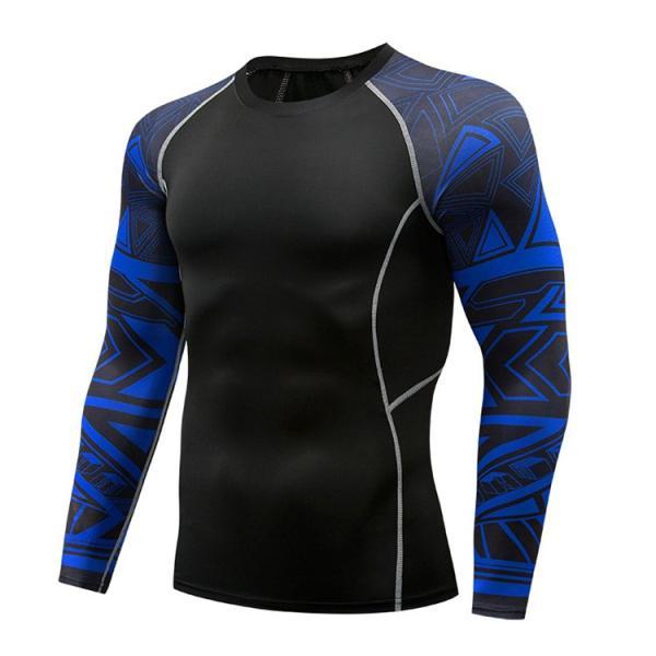 加圧シャツ アンダーシャツ メンズ 長袖 コンプレッションウェア トレーニングウェア 加圧インナー 吸汗速乾 運動着 おしゃれ|otasukemann|24