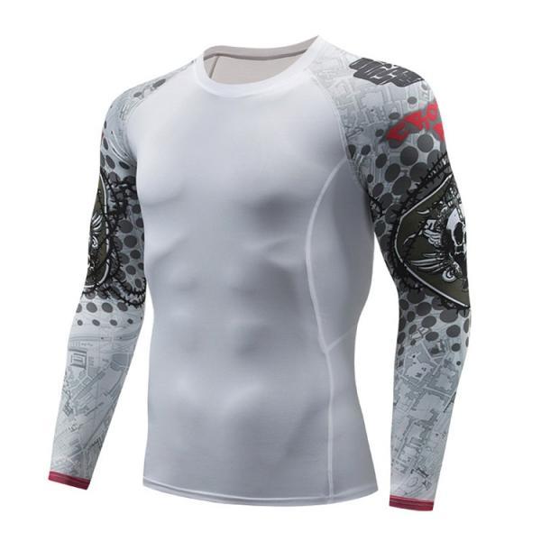 加圧シャツ アンダーシャツ メンズ 長袖 コンプレッションウェア トレーニングウェア 加圧インナー 吸汗速乾 運動着 おしゃれ|otasukemann|06