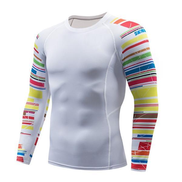 加圧シャツ アンダーシャツ メンズ 長袖 コンプレッションウェア トレーニングウェア 加圧インナー 吸汗速乾 運動着 おしゃれ|otasukemann|08