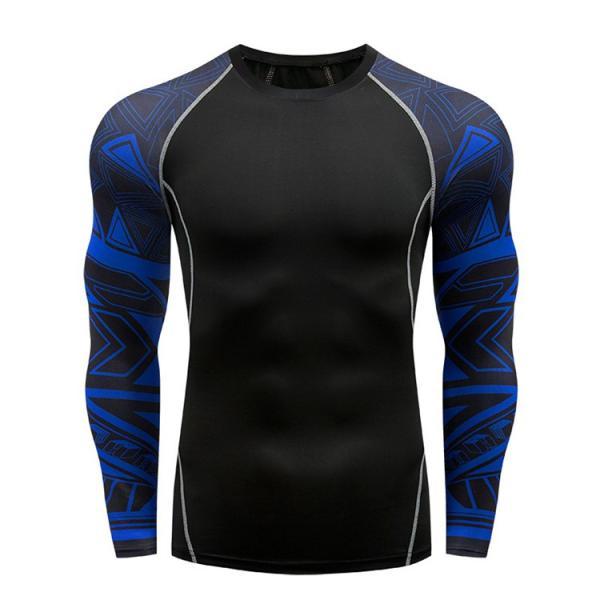 コンプレッションウェア メンズ 運動着 長袖 加圧シャツ アンダーシャツ スポーツウェア 加圧インナー 加圧レギンス トレーニングウェア 速乾|otasukemann|09