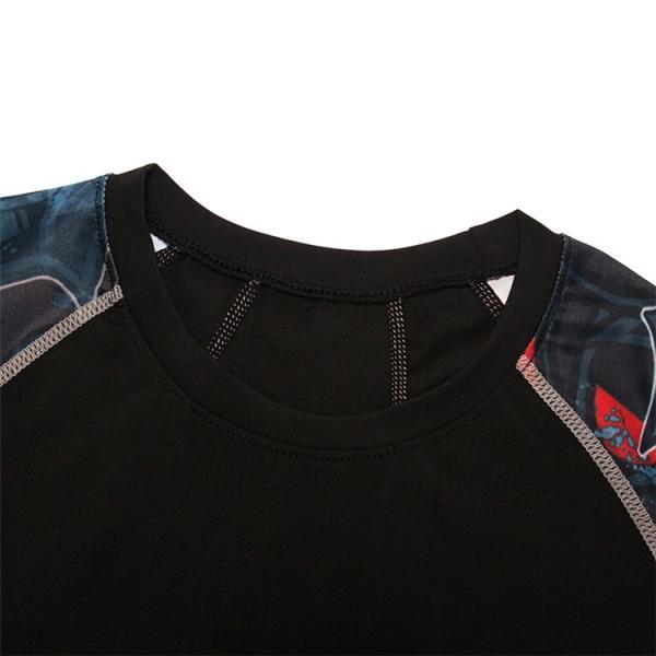 コンプレッションウェア メンズ 運動着 長袖 加圧シャツ アンダーシャツ スポーツウェア 加圧インナー 加圧レギンス トレーニングウェア 速乾|otasukemann|13