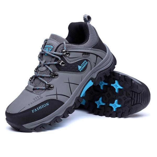 トレッキングシューズ メンズ アウトドアシューズ 登山靴 裏ボア アウトドアシューズ ランニング スポーツ 運動靴 防滑 春物|otasukemann|18