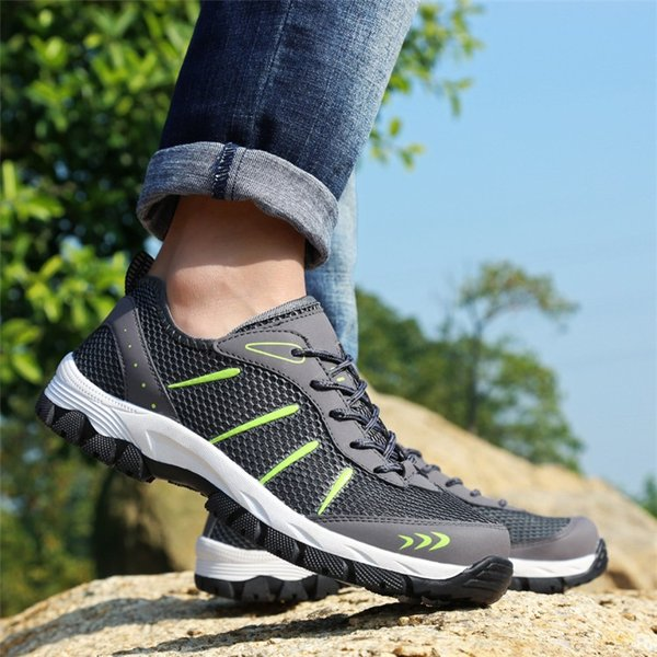 ランニングシューズ トレッキングシューズ メンズ 登山靴 アウトドア ウォーキング メンズ靴 スポーツ 山登り 軽量 滑り止め|otasukemann|12