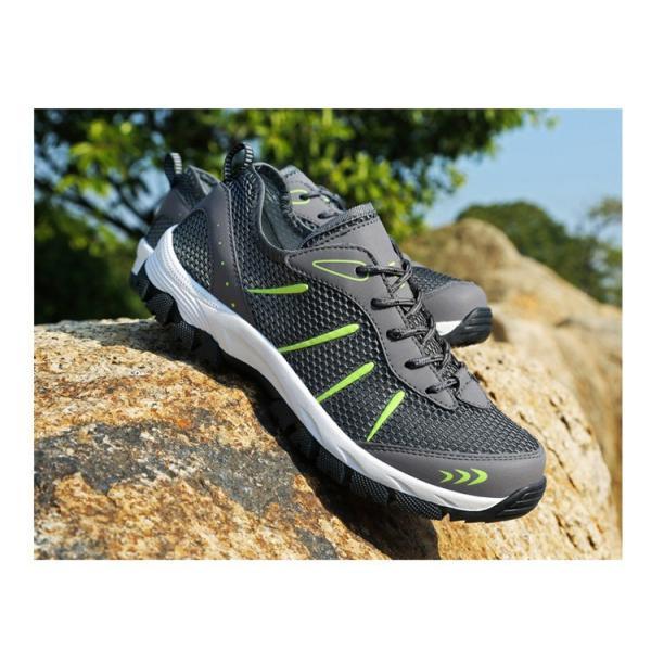 ランニングシューズ トレッキングシューズ メンズ 登山靴 アウトドア ウォーキング メンズ靴 スポーツ 山登り 軽量 滑り止め|otasukemann|15