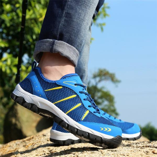 ランニングシューズ トレッキングシューズ メンズ 登山靴 アウトドア ウォーキング メンズ靴 スポーツ 山登り 軽量 滑り止め|otasukemann|07