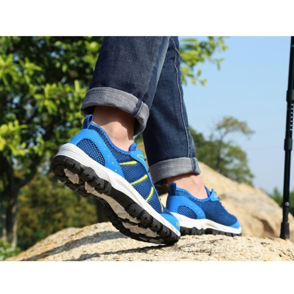 ランニングシューズ トレッキングシューズ メンズ 登山靴 アウトドア ウォーキング メンズ靴 スポーツ 山登り 軽量 滑り止め|otasukemann|09