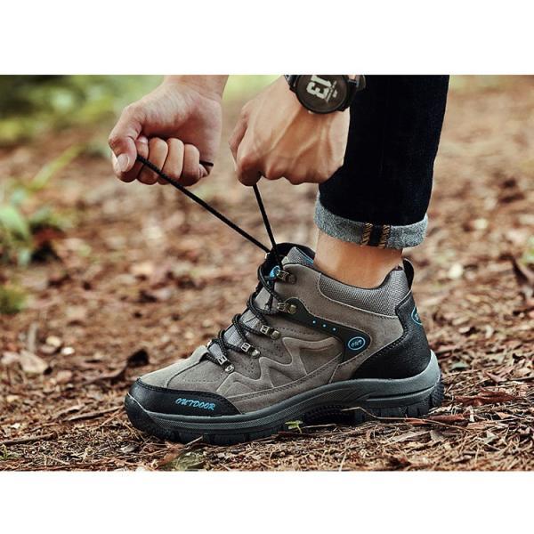 登山靴 ランニングシューズ トレッキングシューズ メンズ アウトドアシューズ 疲れない ハイキング カジュアル おしゃれ 山登り 遠足|otasukemann|13
