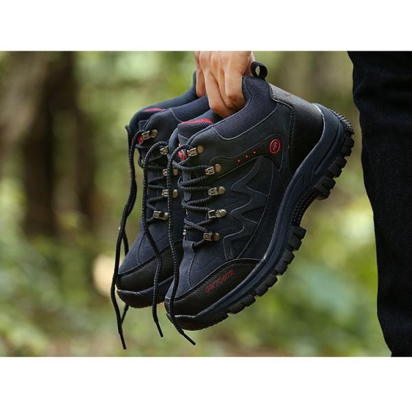登山靴 ランニングシューズ トレッキングシューズ メンズ アウトドアシューズ 疲れない ハイキング カジュアル おしゃれ 山登り 遠足|otasukemann|15