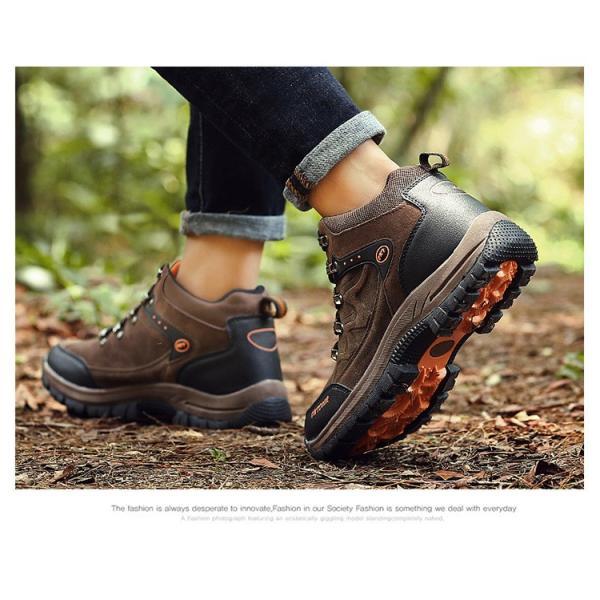 登山靴 ランニングシューズ トレッキングシューズ メンズ アウトドアシューズ 疲れない ハイキング カジュアル おしゃれ 山登り 遠足|otasukemann|10