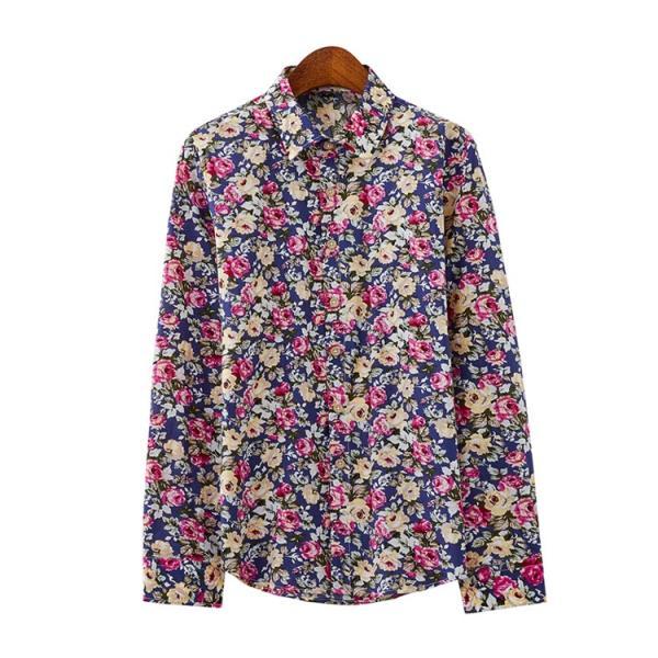 50代ファション 長袖シャツ メンズシャツ 春服 お兄系 カジュアルウンシャツ 花柄シャツ 開襟シャツ ルームウェア|otasukemann|14