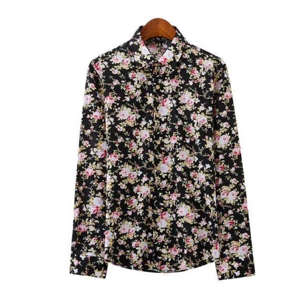 50代ファション 長袖シャツ メンズシャツ 春服 お兄系 カジュアルウンシャツ 花柄シャツ 開襟シャツ ルームウェア|otasukemann|15