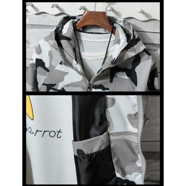 マウンテンパーカー メンズ ミリタリージャケット ジップアップパーカー カジュアルジャケット アウトドアウェア フード付き 春|otasukemann|07