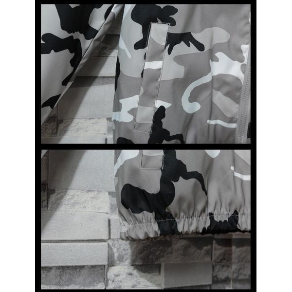 マウンテンパーカー メンズ ミリタリージャケット ジップアップパーカー カジュアルジャケット アウトドアウェア フード付き 春|otasukemann|09