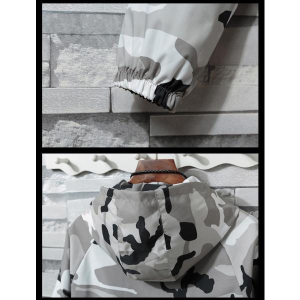 マウンテンパーカー メンズ ミリタリージャケット ジップアップパーカー カジュアルジャケット アウトドアウェア フード付き 春|otasukemann|10