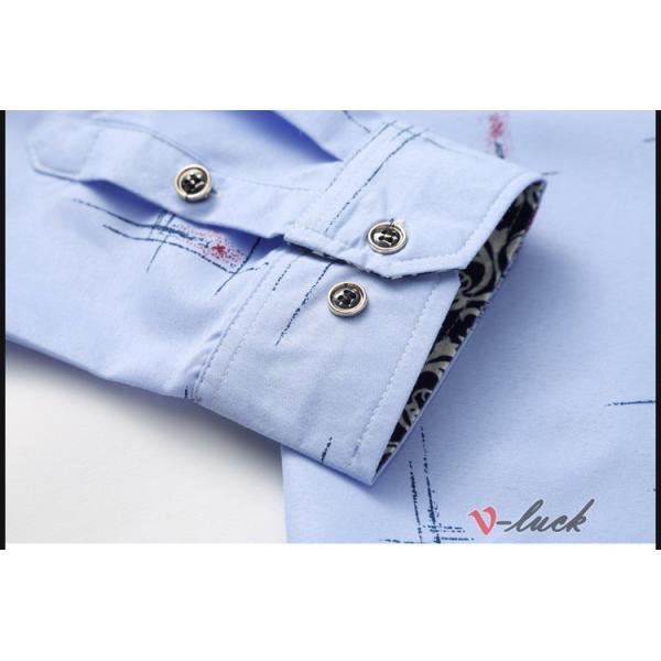 メンズファッション 長袖シャツ カジュアルシャツ 大きいサイズ メンズ アロハシャツ ハワイアン 柄シャツ 40代 50代|otasukemann|14