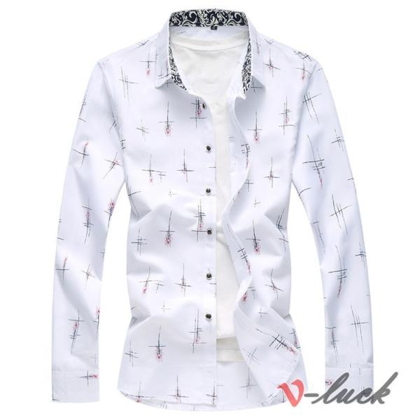 メンズファッション 長袖シャツ カジュアルシャツ 大きいサイズ メンズ アロハシャツ ハワイアン 柄シャツ 40代 50代|otasukemann|05