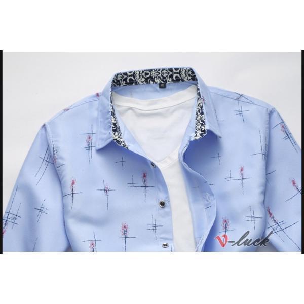メンズファッション 長袖シャツ カジュアルシャツ 大きいサイズ メンズ アロハシャツ ハワイアン 柄シャツ 40代 50代|otasukemann|09