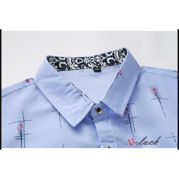 メンズファッション 長袖シャツ カジュアルシャツ 大きいサイズ メンズ アロハシャツ ハワイアン 柄シャツ 40代 50代|otasukemann|10