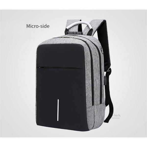 バックで携帯充電 リュックサック ビジネスリュック メンズバック パソコンバック USB充電口付き バックパック 通勤 通学 旅行 セール|otasukemann|11