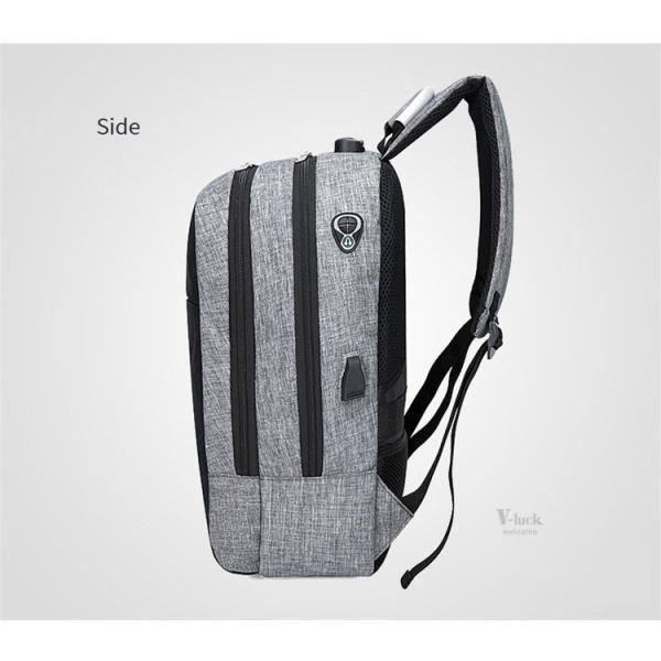 バックで携帯充電 リュックサック ビジネスリュック メンズバック パソコンバック USB充電口付き バックパック 通勤 通学 旅行 セール|otasukemann|12