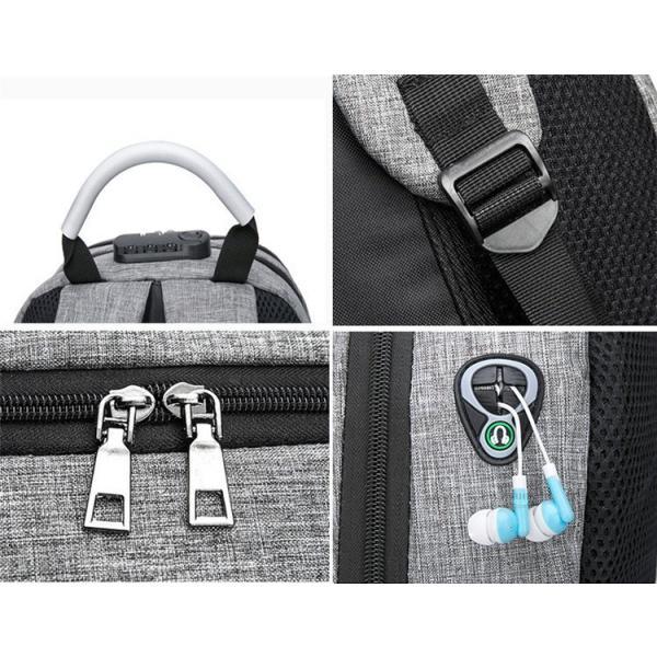 バックで携帯充電 リュックサック ビジネスリュック メンズバック パソコンバック USB充電口付き バックパック 通勤 通学 旅行 セール|otasukemann|20