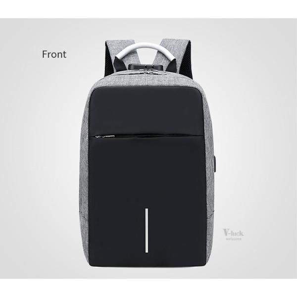 バックで携帯充電 リュックサック ビジネスリュック メンズバック パソコンバック USB充電口付き バックパック 通勤 通学 旅行 セール|otasukemann|10