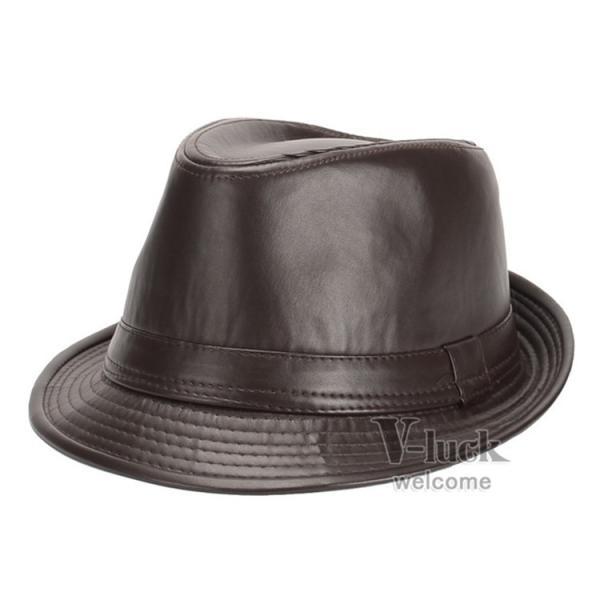 中折れ帽 メンズ 帽子 おしゃれ ハット 中折れハット 紫外線防止 日よけ帽子 紳士用 フェルトハット 頭周り58CM 2019 セール|otasukemann|08