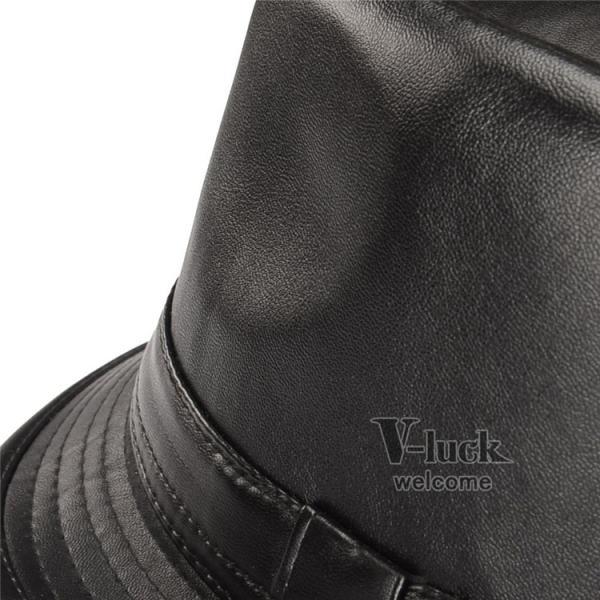中折れ帽 メンズ 帽子 おしゃれ ハット 中折れハット 紫外線防止 日よけ帽子 紳士用 フェルトハット 頭周り58CM 2019 セール|otasukemann|12