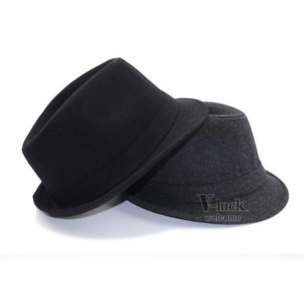 中折れ帽 メンズ 帽子 おしゃれ ハット 中折れハット 紫外線防止 日よけ帽子 紳士用 フェルトハット 頭周り58CM 2019 セール|otasukemann|18