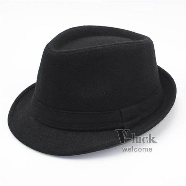 中折れ帽 メンズ 帽子 おしゃれ ハット 中折れハット 紫外線防止 日よけ帽子 紳士用 フェルトハット 頭周り58CM 2019 セール|otasukemann|19