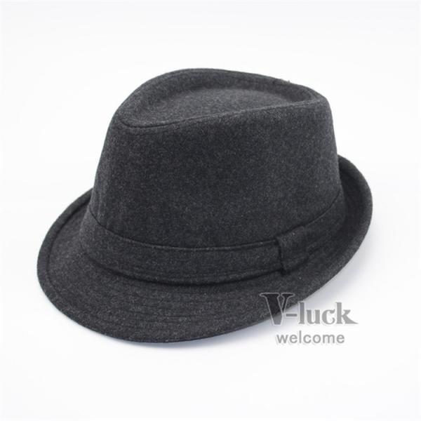 中折れ帽 メンズ 帽子 おしゃれ ハット 中折れハット 紫外線防止 日よけ帽子 紳士用 フェルトハット 頭周り58CM 2019 セール|otasukemann|05