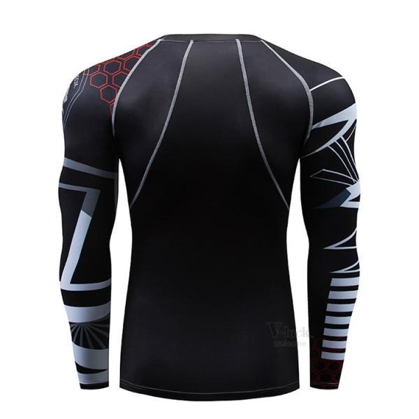 スポーツウェア メンズ コンプレッションウェア セットアップ トレーニングウェア ロングタイツ 長袖 加圧インナー ジャージ 速乾 送料無料|otasukemann|17