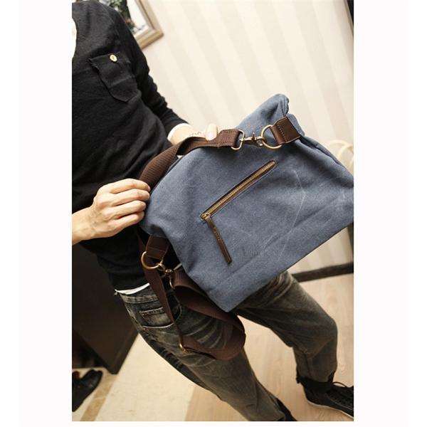 斜めがけ メンズ ショルダーバッグ メッセンジャーバッグ 口折れ バック かばん ポシェット 斜め掛け 2Wayバッグ 鞄|otasukemann|11
