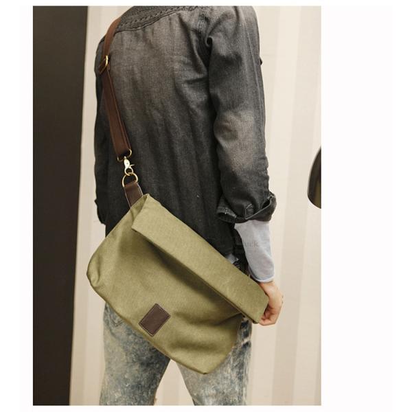 斜めがけ メンズ ショルダーバッグ メッセンジャーバッグ 口折れ バック かばん ポシェット 斜め掛け 2Wayバッグ 鞄|otasukemann|12